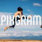 Review Aplikasi Pembuat Slideshow Pixgram