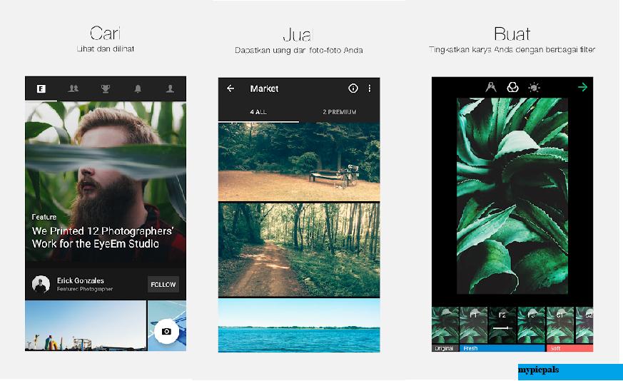 Review Aplikasi EyeEm : Upload & Berbagi Gambar