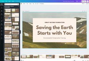 Cara Membuat Slideshow dengan Canva